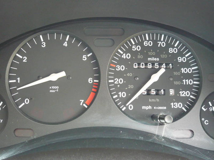 1998 s vauxhall corsa breeze 16v automatic speedometer