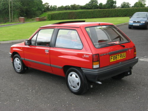 1982 vauxhall nova 1.2 flair 3