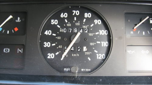 1982 vauxhall nova 1.2 flair speedometer